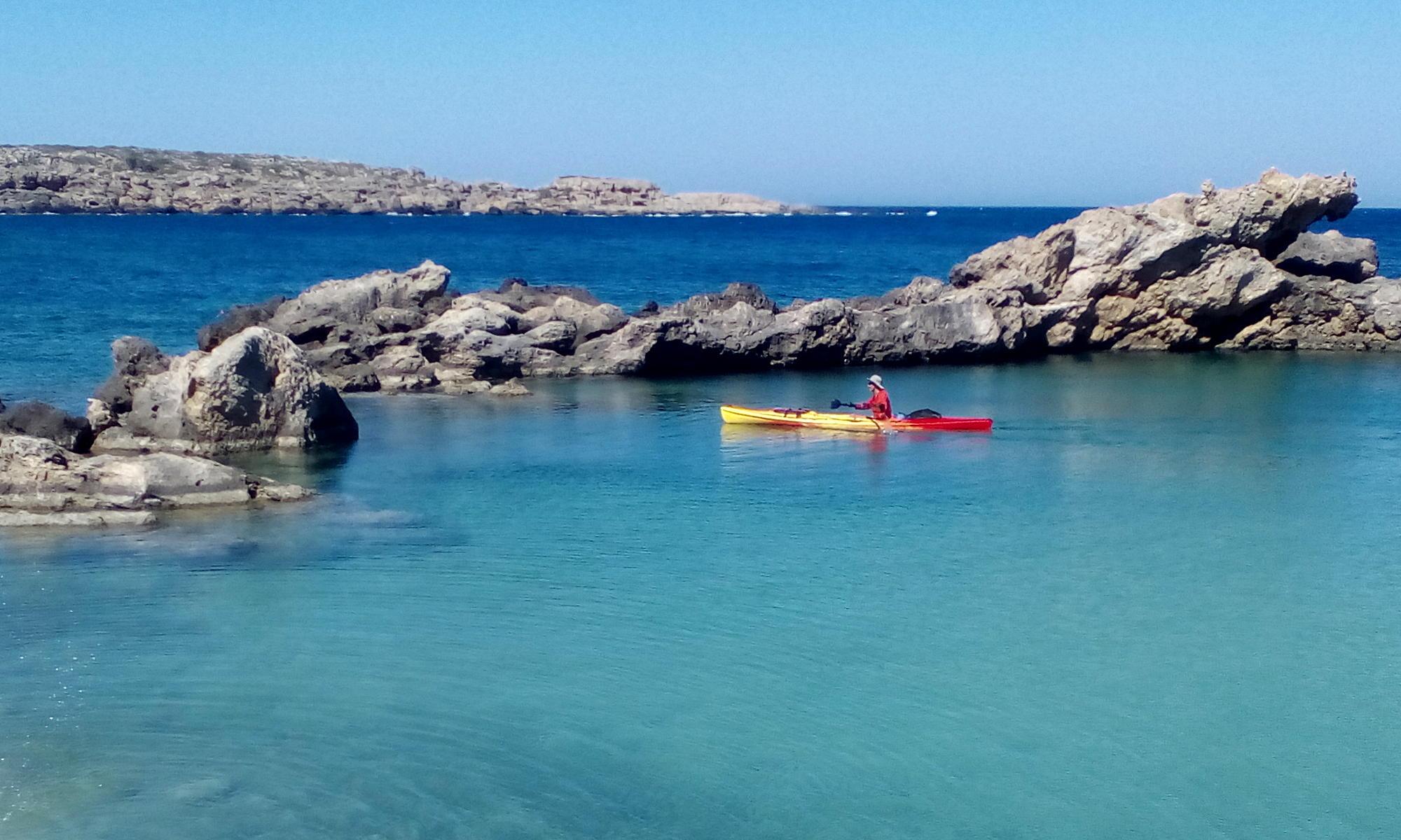 Kayak Around Crete