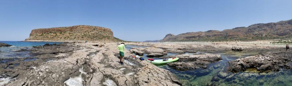 Kayak Balos Panorama