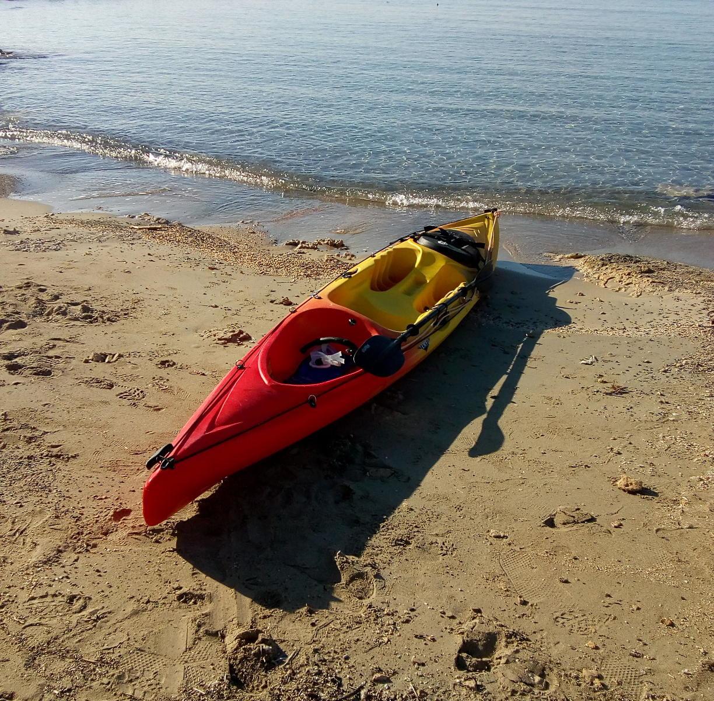 Kayak in Elafonissi